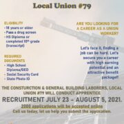 Construction and General Building Laborers ~ Local Union #79