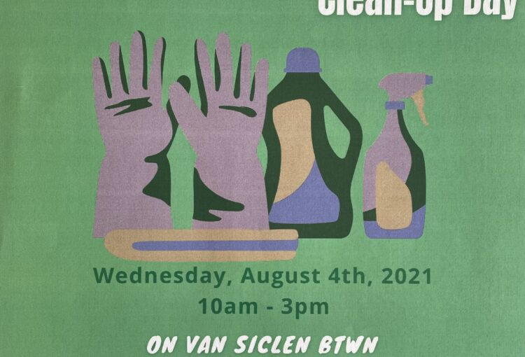 Rise Up ENY Clean Up Van Siclen Ave.